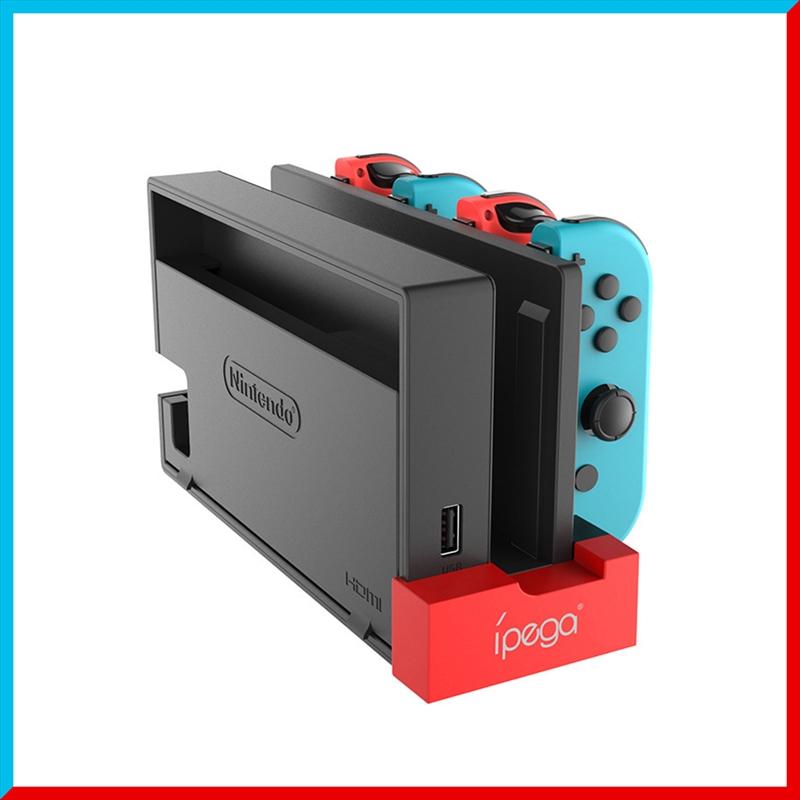 Nintendo 信憑 Switch スイッチ 4台同時充電 ジョイコン 充電ドック 充電スタンド ニンテンドー セール Joy-Con 任天堂 充電 コントローラー スタンド 充電器