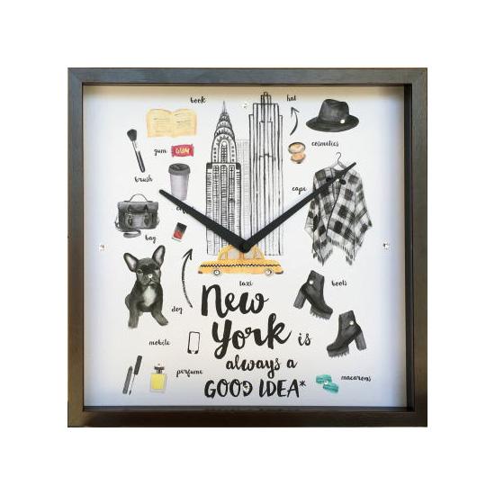 Good Idea Clock/NEW YORK