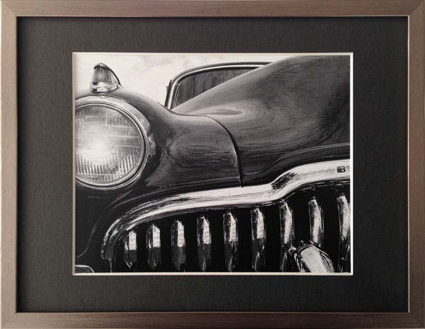 キャデラック シボレー コルベット 古き良きアメリカを象徴する名車の一部分をモチーフにしたモノクロ写真 Richard ビュイック James 公式ショップ Eight Buick エイト SALENEW大人気!