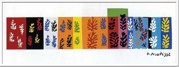 Henri Matisse(アンリ・マティス)/Les Velours(Silk screen)