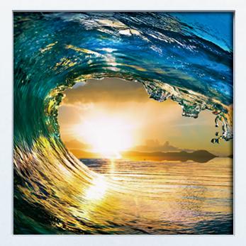 《キャンバスアート》Wave PANEL