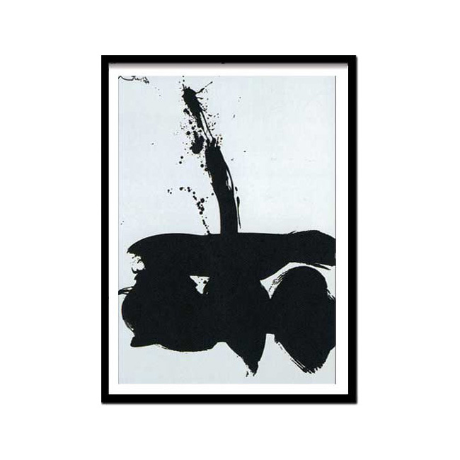 Robert Motherwell(ロバート・マザウェル)/Samurai N,1,1974(Silk screen)
