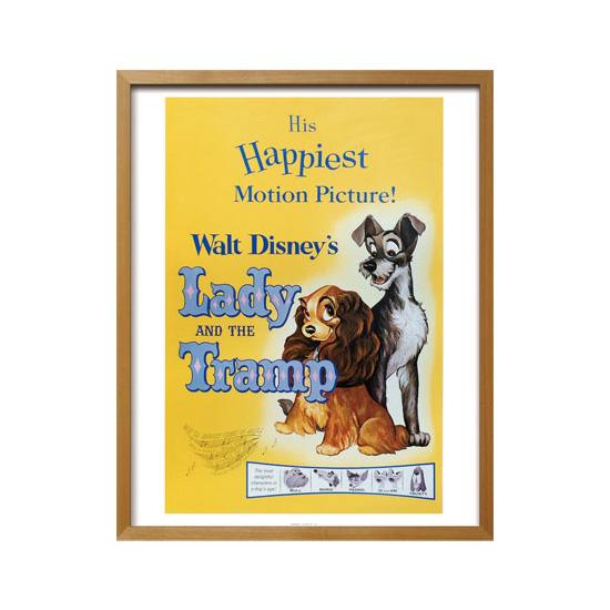 ビンテージ ディズニー シリーズ/Lady and the Tramp