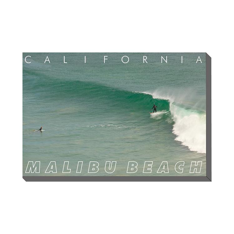 Malibu Beach キャンバスアート 800x600