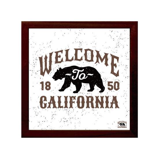 《キャンバスアート》Welcome to California