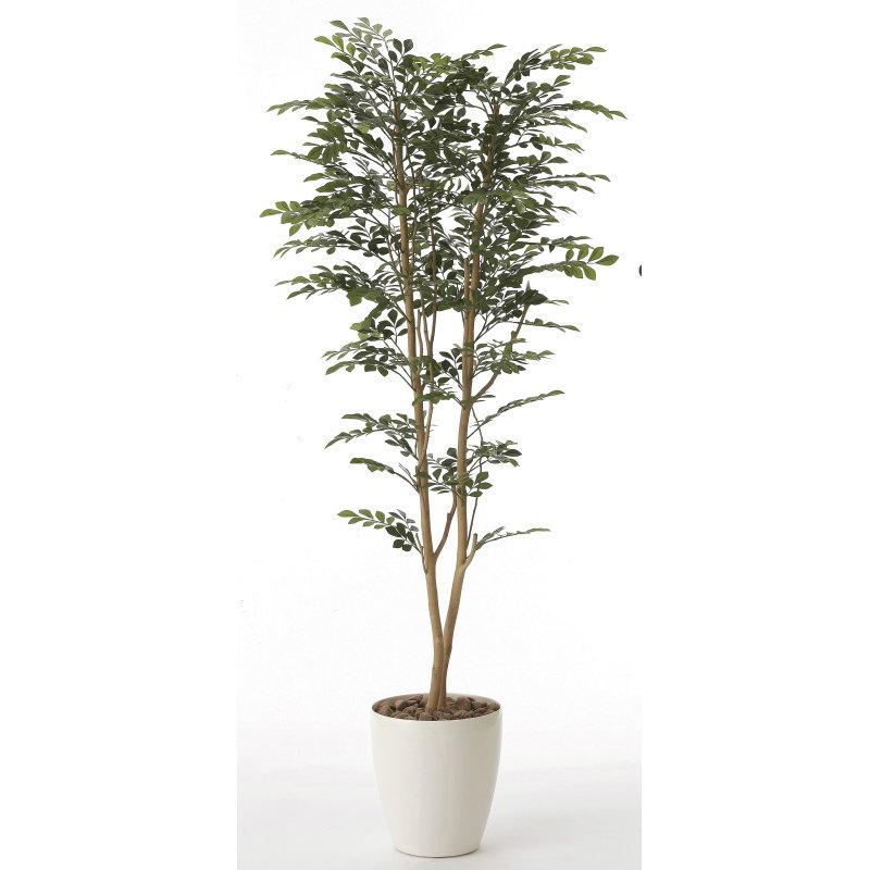本物のような精巧な作りで人気の光触媒加工の人工観葉植物。オフィスやストア、開店・開業のお祝い、ギフト・ご贈答ギフトに!! 【直送】【送料無料】光の楽園 ゴールデンツリー1.6m 606A310