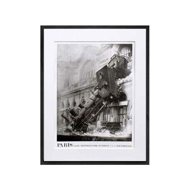 PARIS Gare Montparnasse Accident22 OCTOBRE1895 (フォトグラフィー モンパルナス 鉄道事故)