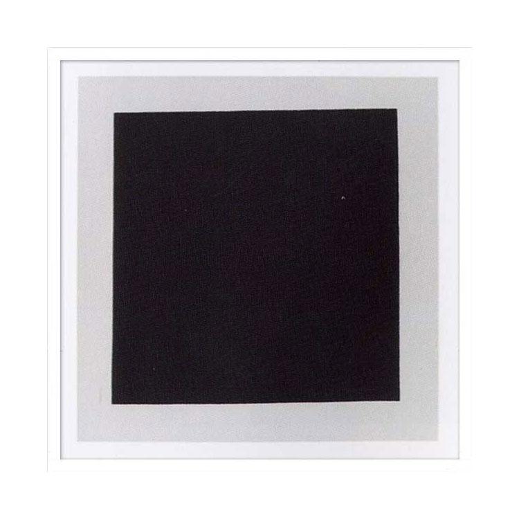 《絵画・抽象画》Kazimir Malevich Black square(Silkscreen)(カジミール・マレーヴィチ ブラック スクエア(シルクスクリーン))