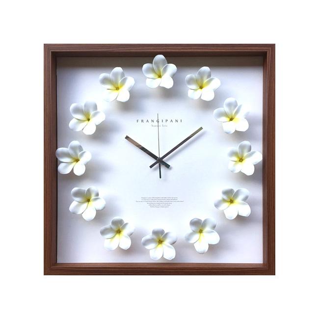 特価ブランド DISPLAY CLOCK CLOCK Plumeria Plumeria DISPLAY White【掛時計】クロック プルメリアホワイト, 安心バラ苗の店:53e6f494 --- canoncity.azurewebsites.net