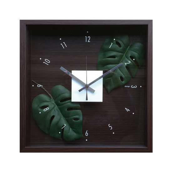【セール 登場から人気沸騰】 F-Style Clock F-Style Monstera【掛時計 Clock】クロック Monstera モンステラ, STANZA DOLCE-毛皮&バッグ-:8640cb88 --- canoncity.azurewebsites.net