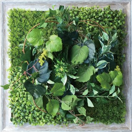 《ウォールグリーン》Shibafu Wreath 2