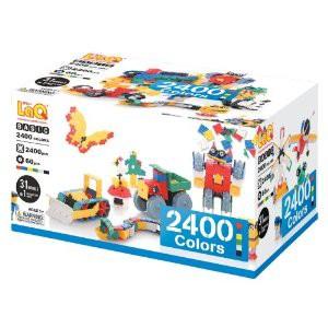 【玩具】【LaQ(ラキュー) ベーシック 2400 カラーズ】