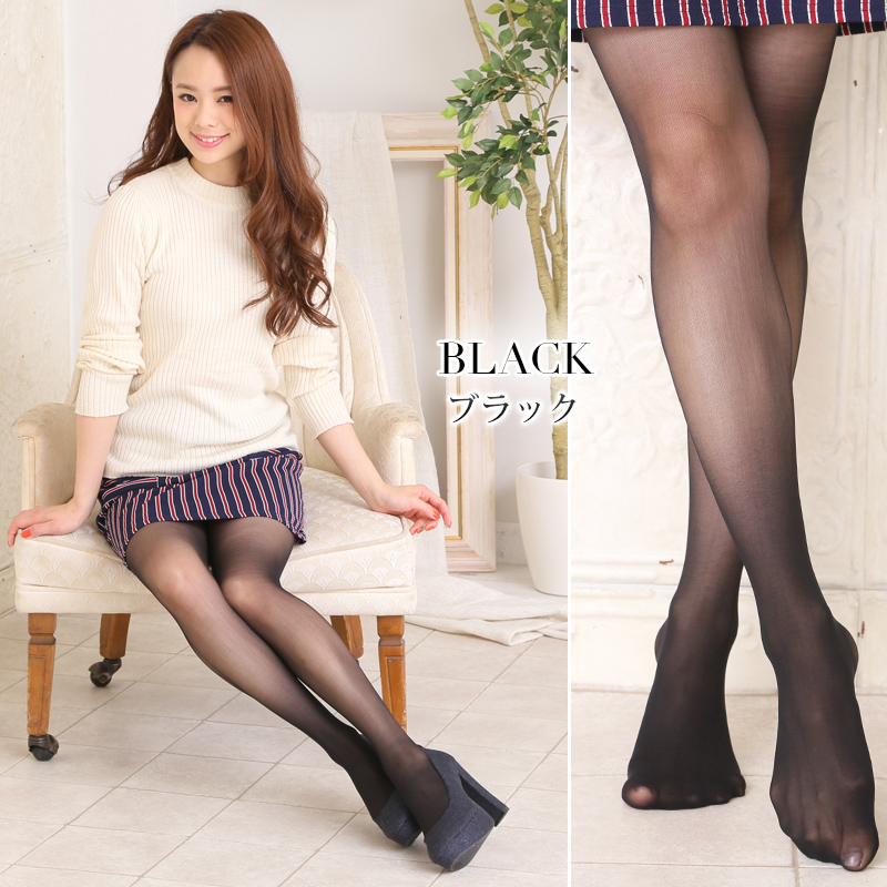 Tights leggings pantyhose ladies legs line tights 18D thigh line without a switching line without stockings (404 m rs-fas-) allege fashion allege stocking easy-to-fit dress up any outfit!
