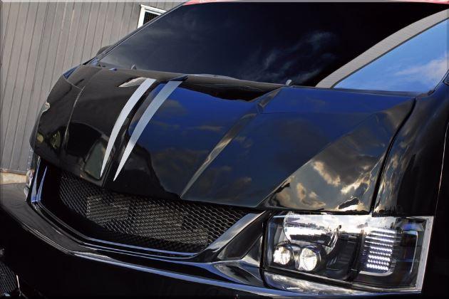 SADカスタム(SAD-CUSTOM) スティンガータイプ4 200系ハイエースワイドボディ スティンガーフェイスキット