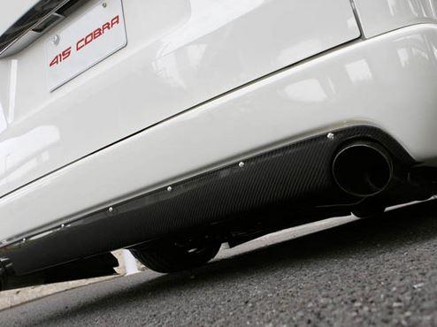 415コブラ(ラブラーク) ナロー用 STAGE1 カーボンリアバランサー 200系ハイエース標準ボディ