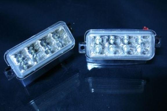 JB23ジムニー LEDクリスタルバックランプキット クローム