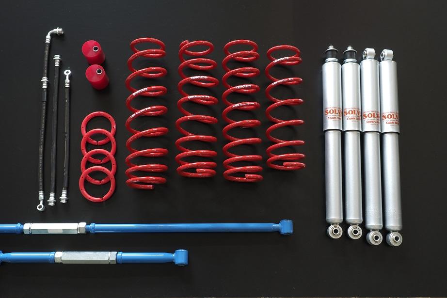 超安い品質 タニグチ ソルブLOB ソルブLOB アスリートキット スタンダードセット JB23 JB23/33ジムニー/33ジムニー アスリートキット スーパーロングショックセット, セレスティ:39adb863 --- themezbazar.com