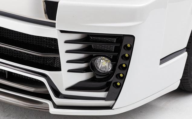 ダイナスティ(Dynasty) EXIST EVO タイプ4 専用5連LEDデイライト【LEDセット】 200系ハイエース4型ワイドボディ