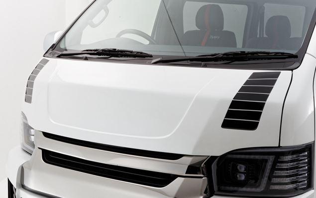 ダイナスティ(Dynasty) EXIST EVO タイプ4 スラスターボンネットスポイラー未塗装 グランドキャビン