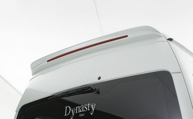 ダイナスティ(Dynasty) EXIST EVO タイプ4 リアウイングスポイラー未塗装【ハイルーフ】 グランドキャビン