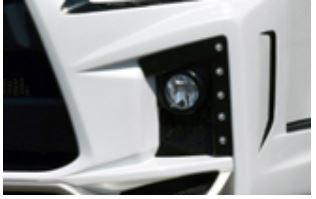ブレスクリエイション(BLESS CREATION) ブレスエルモードバンパー Bタイプ【デイライトベース+LEDライト縦10発セット】 200系ハイエース4型【ワイドボディ】