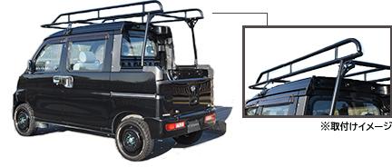 ハードカーゴジャパン(HARD CARGO JAPAN) 軽トラック ハードカーゴキャリア ハイゼットデッキバン専用【S321W・S331W】