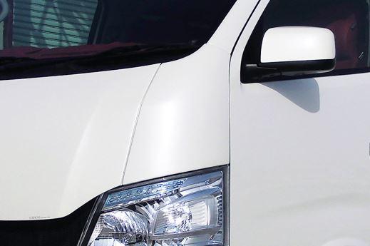 ギブソン(GIBSON) コーナーカバー貼り付けタイプ未塗装【NV350キャラバン標準・ワイド共通】