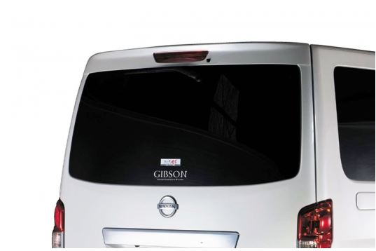 ギブソン(GIBSON) リアルーフスポイラー未塗装【NV350キャラバン標準ボディ】