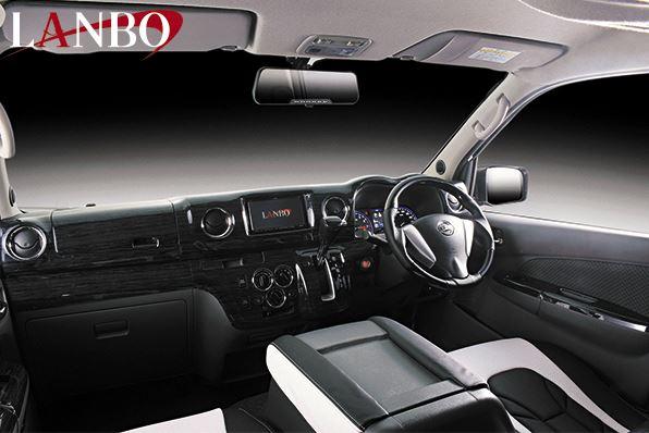 LANBO(ランボ) 3Dインテリアパネル15ピースセット NV350キャラバン 標準ボディ