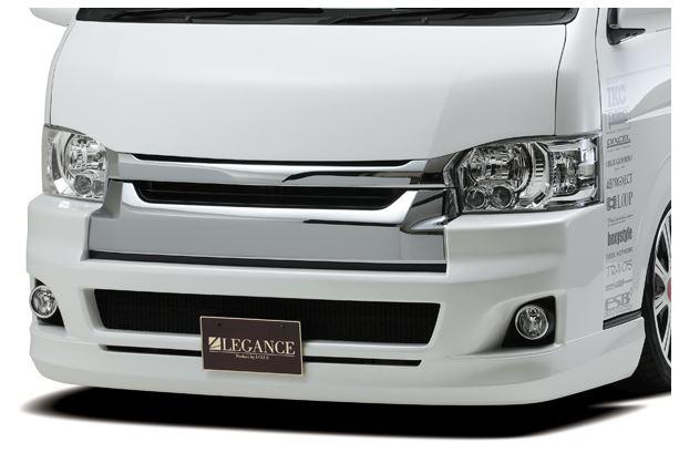 ラウンド  レガンス(LEGANCE) J-CLUB 4型・4型後期フロントフルバンパー未塗装【ワイドボディ用】 200系ハイエース4型, これありマーケット:d9f4dec3 --- inglin-transporte.ch