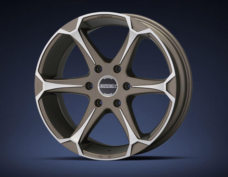ESSEX(エセックス) EJ マットブロンズポリッシュ 17インチ 【厳選輸入215/60R17ホイールタイヤセット】 200系ハイエースに最適〈タイヤ銘柄選べます!〉