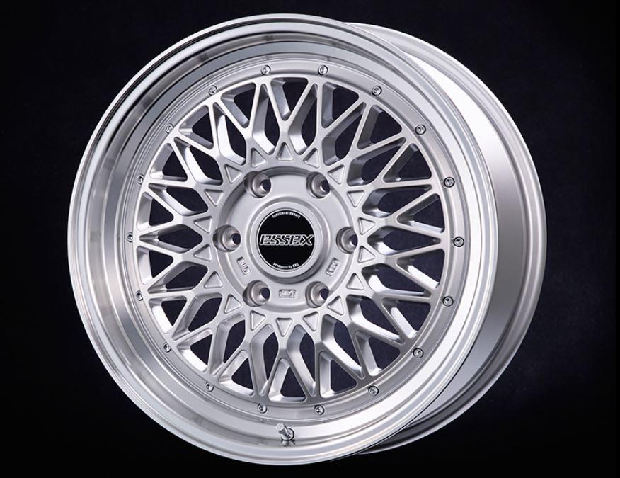 ESSEX(エセックス) ENCM 1P シルバー 18インチ 【厳選輸入225/50R18ホイールタイヤセット】 200系ハイエースに最適〈タイヤ銘柄選べます!〉