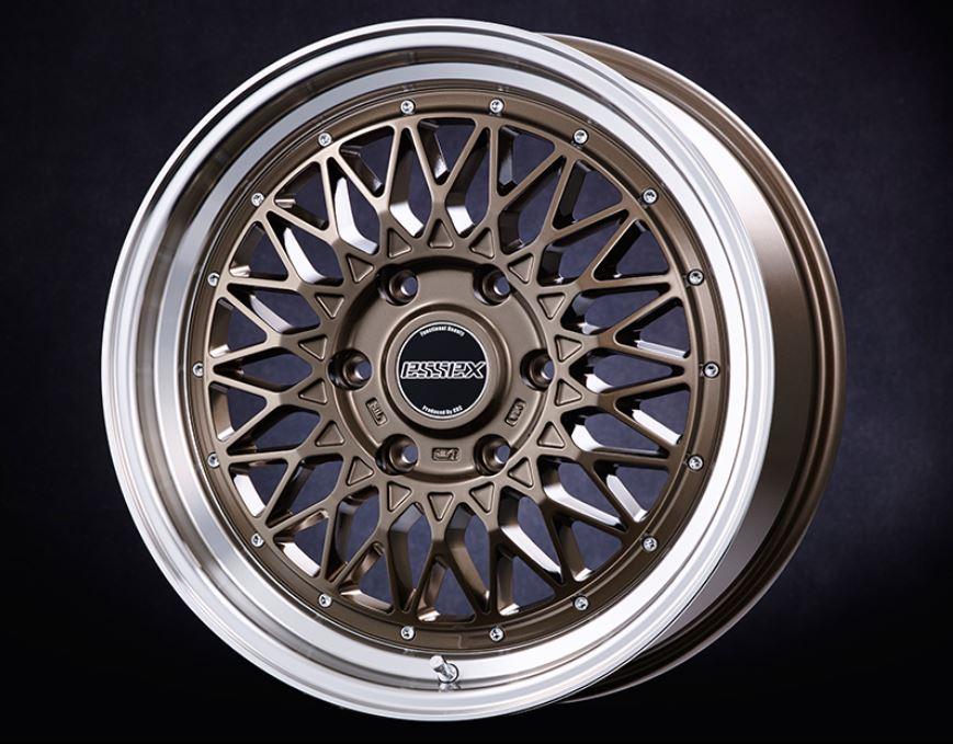 ESSEX(エセックス) ENCM 1P ブロンズ 18インチ 【厳選輸入225/50R18ホイールタイヤセット】 200系ハイエースに最適〈タイヤ銘柄選べます!〉