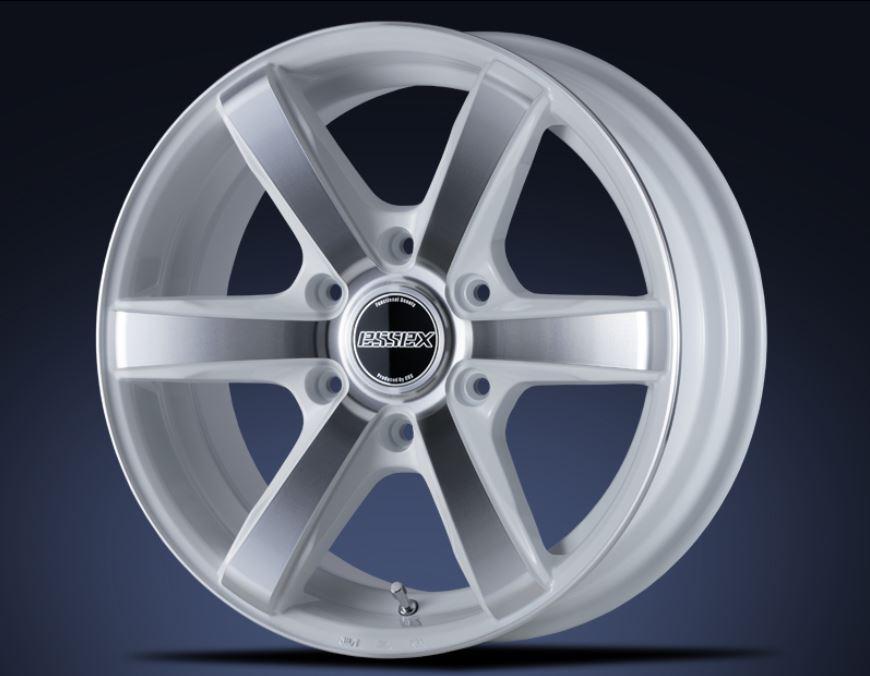ESSEX(エセックス) EC ホワイトポリッシュ 20インチ 【厳選輸入225/35R20ホイールタイヤセット】 200系ハイエースに最適〈タイヤ銘柄選べます!〉