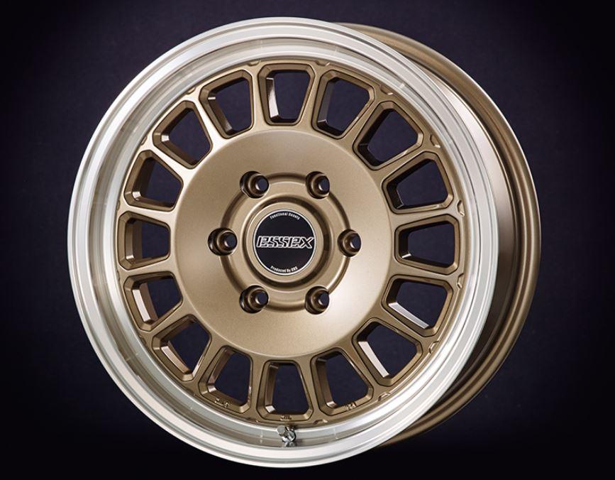 ESSEX(エセックス) ENCD 1ピース ブロンズ 17インチ 【厳選輸入215/60R17ホイールタイヤセット】 200系ハイエースに最適〈タイヤ銘柄選べます!〉