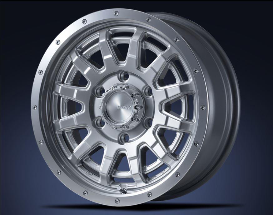 ESSEX(エセックス) EX プラチナム 16インチ 【厳選輸入215/65R16ホイールタイヤ4本セット】 200系ハイエースに最適〈タイヤメーカー選べます!〉