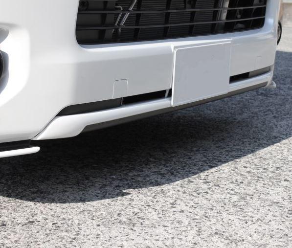200系ハイエース1~5型【標準ボディ専用】フロントスポイラー未塗装 FP01