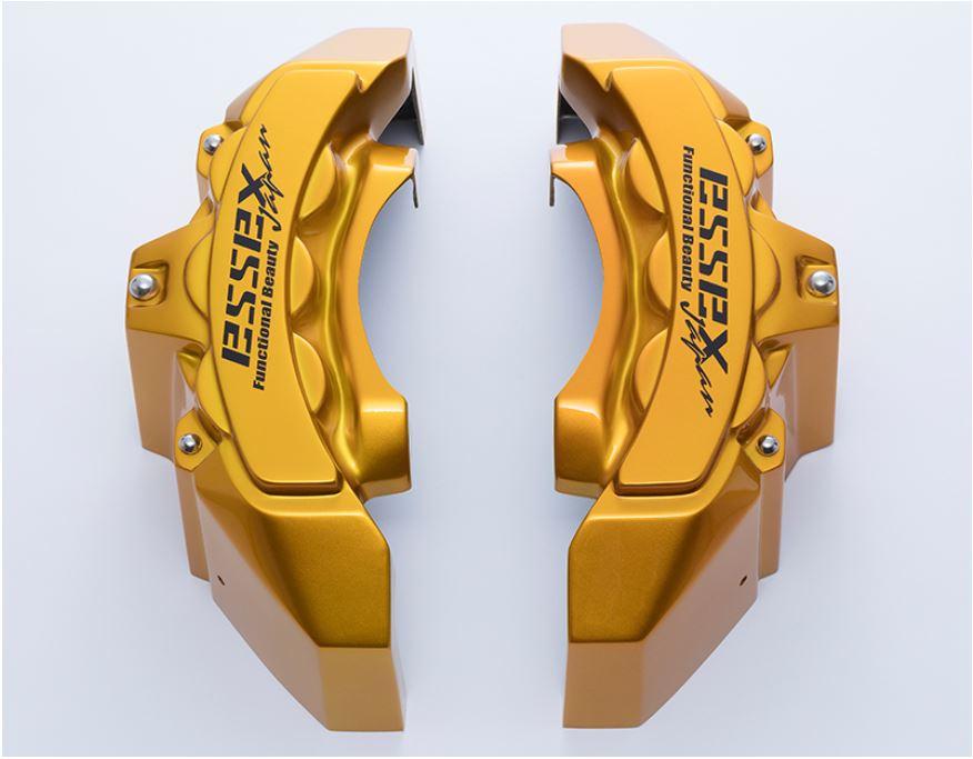 エセックス(ESSEX/CRS) キャリパーカバーVer3 キャンディイエロー 200系ハイエース