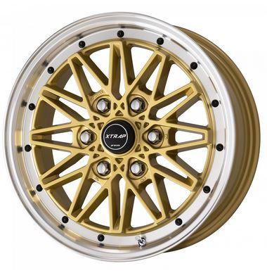WORK「ワーク」 XTRAP ゴールド03HC 17インチ 【厳選輸入215/60R17ホイールタイヤセット】 200系ハイエース〈タイヤ銘柄選べます!〉