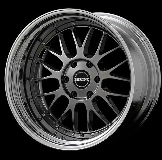 ファブレスヴァローネLM-9 2P ハイパーブラック 17インチ【厳選輸入215/60R17ホイールタイヤセット】 200系ハイエースに最適〈タイヤメーカー選べます!〉
