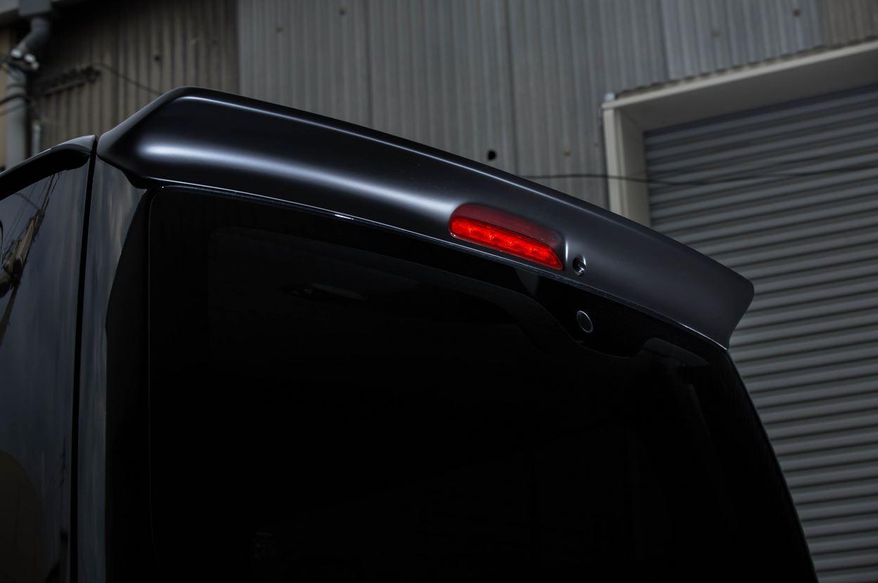 415コブラ(ラブラーク) 【ナロー用】 By2 ルーフスポイラー未塗装 タイプ2 200系ハイエース標準ボディ1~4型