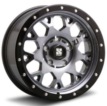 MLJ エクストリームJ XJ04 グロスブラック 16インチ 【厳選輸入215/65R16ホイールタイヤ4本セット】 200系ハイエースに最適〈タイヤメーカー選べます!〉