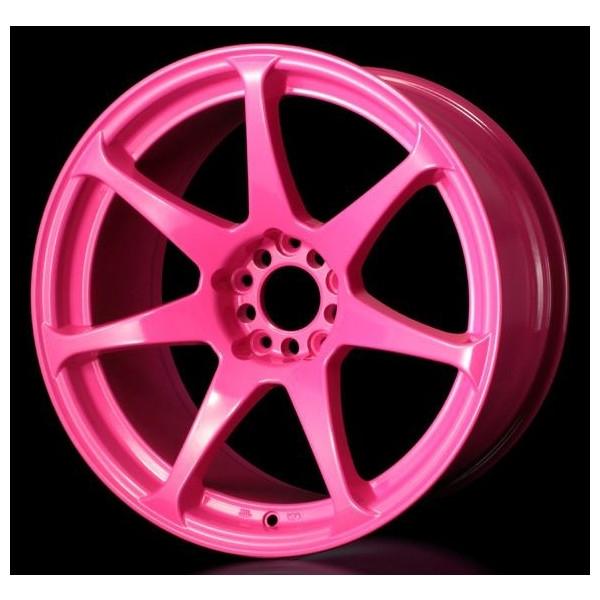 CST ZERO-1HYPER ゼロワンハイパー 17×9.5J 5/114.3 +15 蛍光ピンク