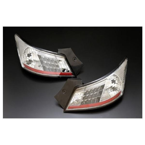 クリアワールド(CrearWorld) QNC20系bB LEDクリアテールランプ スモークレンズ