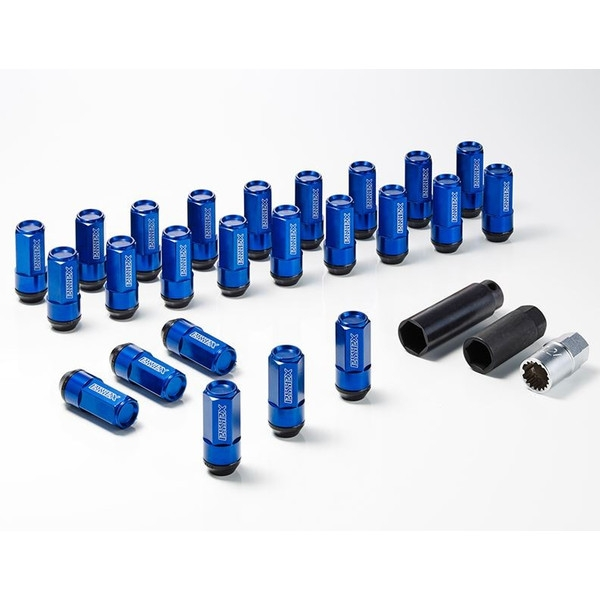 エセックス(ESSEX/CRS)2Pシェルナット クローズドエンドタイプ ブルー 17HEX-M12 24本入り