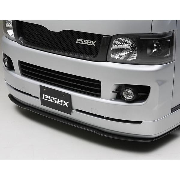 エセックス(ESSEX/CRS) フロントリップスポイラーVerI未塗装 200系ハイエース標準ボディ1~2型 エアロパーツ