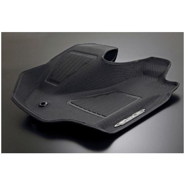 玄武 ハイエース TRH/KDH200系 標準ボディ コンフォートマット ブラックステッチ フロントセット OMF01KH