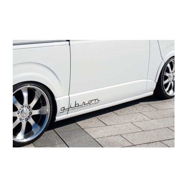 ギブソン(GIBSON) サイドステップ塗装済み 200系ハイエース標準ボディ1~4型(個人宅直送不可商品)