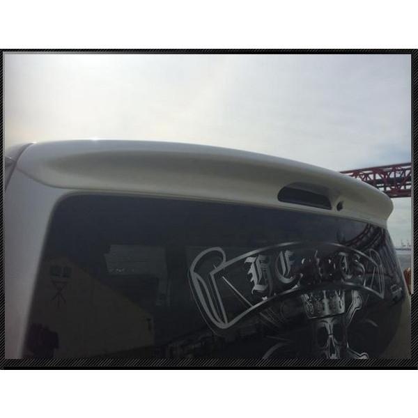 ハーツ(Hearts) リアルーフスポイラーVer2未塗装 200系ハイエースワイドボディ用