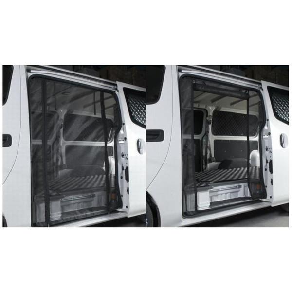 リムコーポレーション(RIM) 防虫ネットスライドドア NV350キャラバン ロングボディ・ダブルファスナー